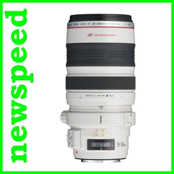 Canon EF 28-300mm F3.5-5.6L IS USM Lens (Canon MSIA) New