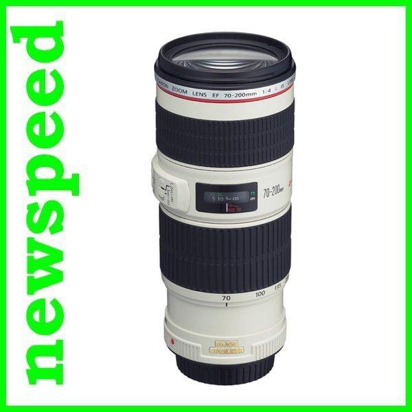 New Canon EF 70-200mm F4L IS USM Lens (Import)