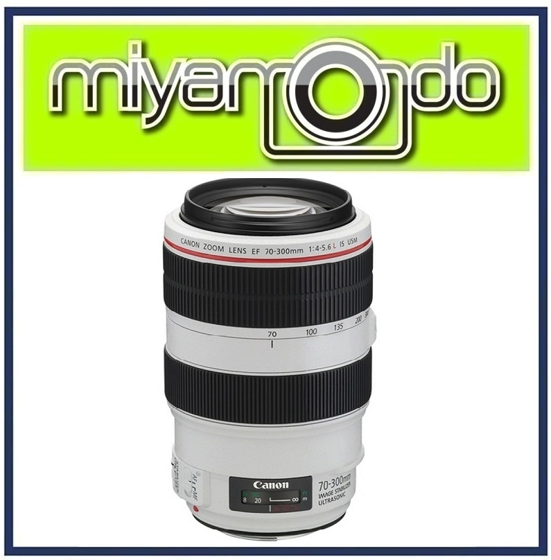 NEW Canon EF 70-300mm f/4-5.6 L IS USM Lens