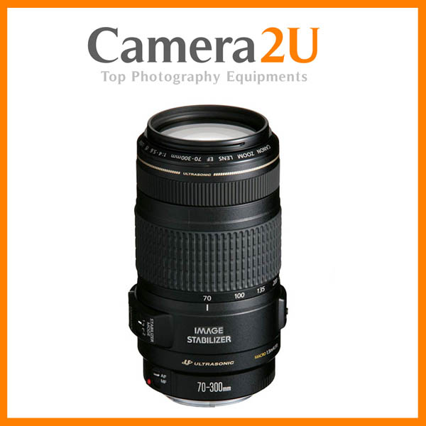 New Canon EF 70-300mm F4-5.6 IS USM Lens (Import)