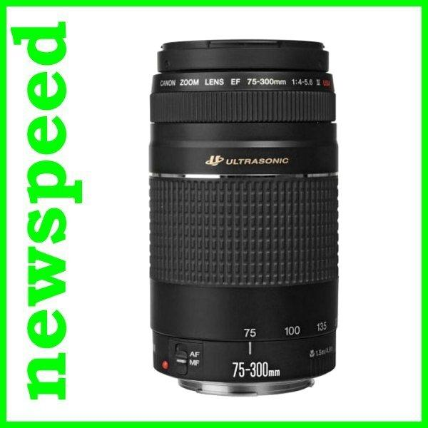 New Canon EF 75-300mm F4-5.6 III USM Lens (Canon MSIA)