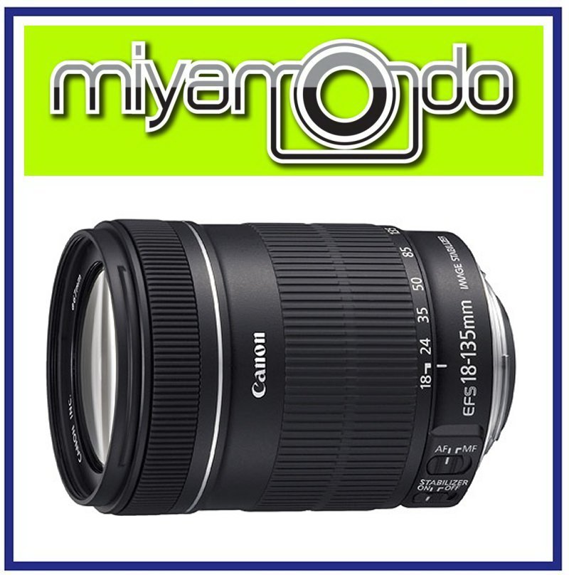 NEW Canon EF-S 18-135mm F3.5-5.6 IS Lens