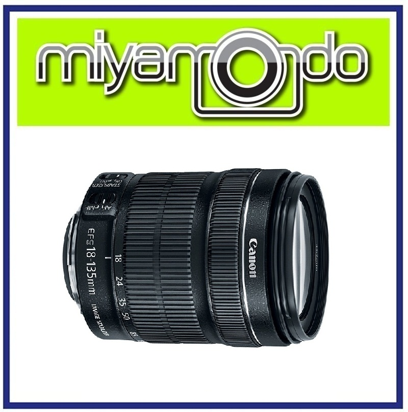 NEW Canon EF-S 18-135mm F3.5-5.6 IS STM Lens