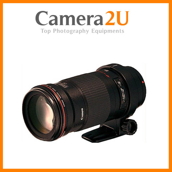 New Canon EF180mm EF 180mm F3.5L Macro USM Lens (Canon MSIA)