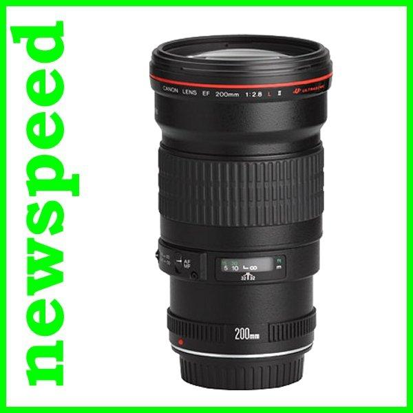 New Canon EF200mm EF 200mm F2.8 L II USM Lens (Canon MSIA)