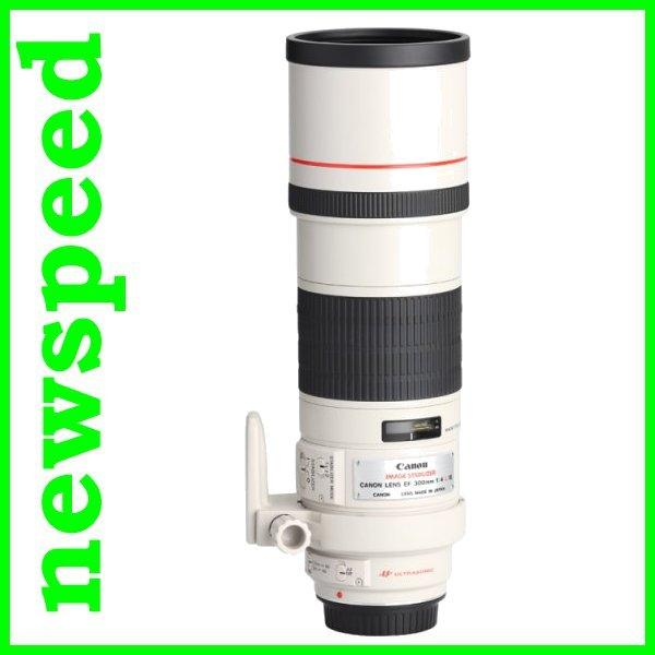 New Canon EF300mm EF 300mm F4 L IS USM Lens (Canon MSIA)