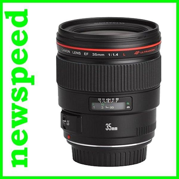 New Canon EF35mm EF 35mm F1.4 L USM Lens (Canon MSIA)