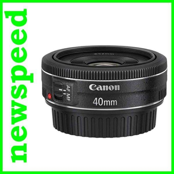 New Canon EF40mm EF 40mm F2.8 STM Lens (Canon MSIA)