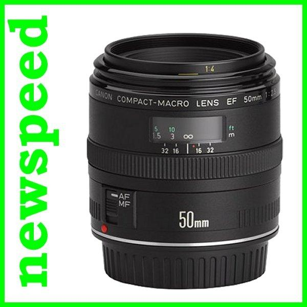 New Canon EF50mm EF 50mm F2.5 Compact Macro Lens (Import)