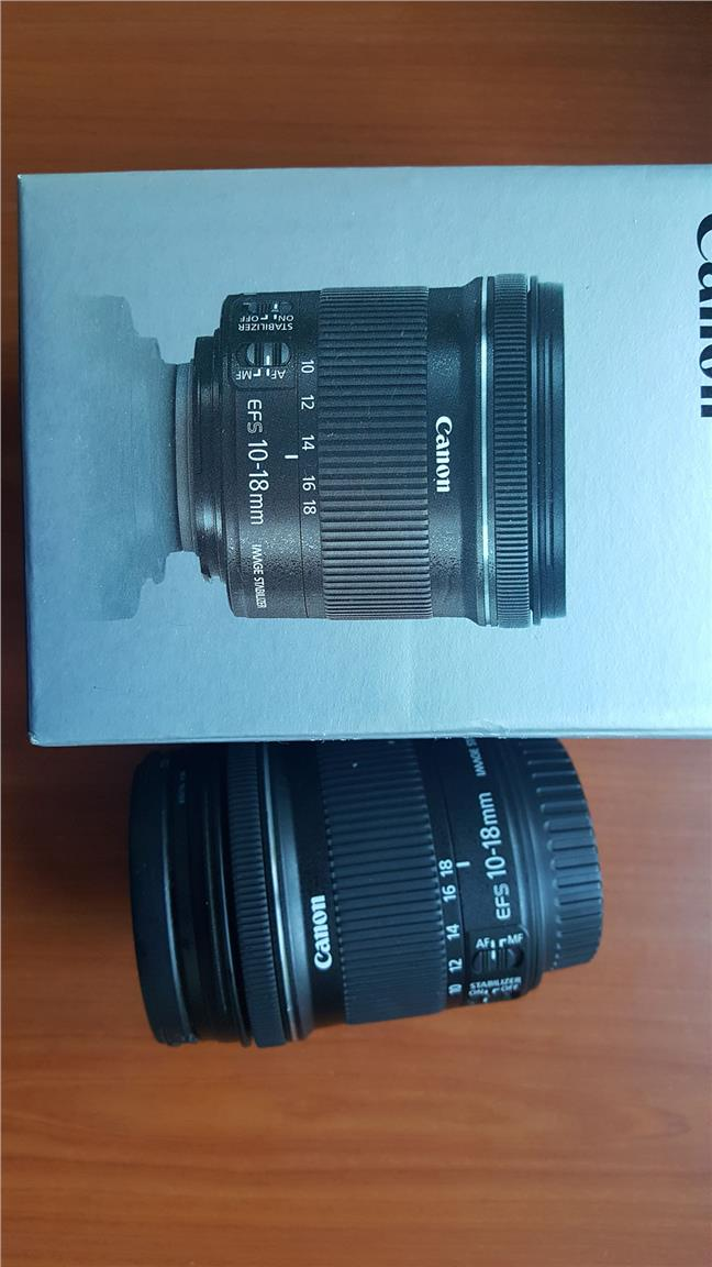 Canon EFS 10-18mm Lenses