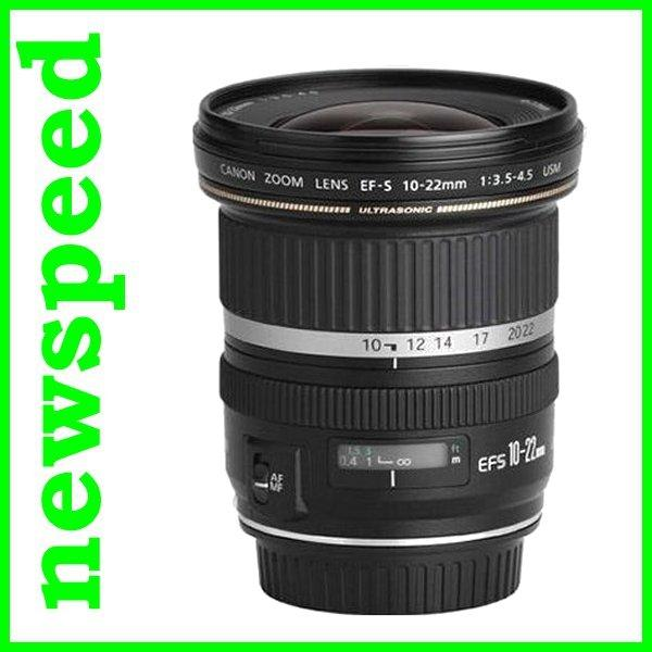 New Canon EFS EF-S 10-22mm F3.5-4.5 USM Lens (Canon MSIA)
