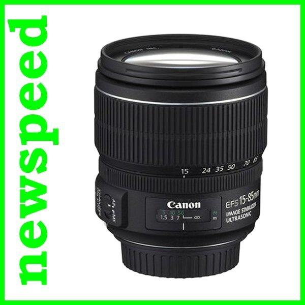New Canon EFS EF-S 15-85mm F3.5-5.6 IS USM Lens (Import)