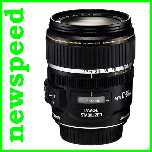 New Canon EFS EF-S 17-85mm F4-5.6 IS USM Lens (Canon MSIA)