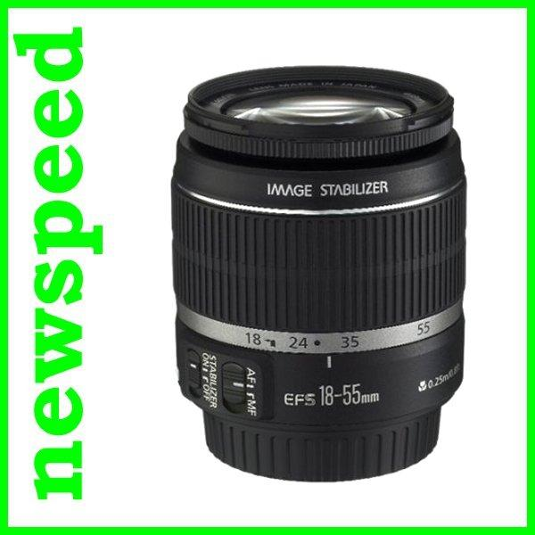 New Canon EFS EF-S 18-55mm F3.5-5.6 IS II Lens