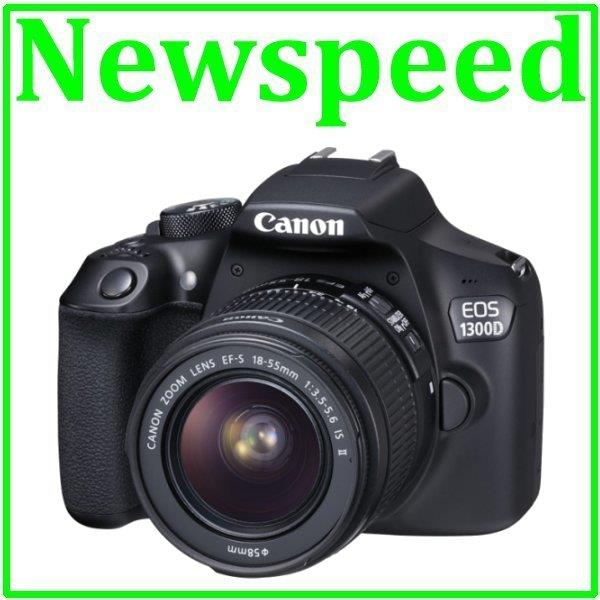 Canon EOS 1300D + 18-55mm IS II Lens +8GB+Bag (Canon MSIA) New