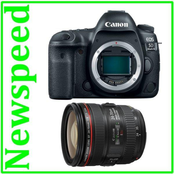 Canon EOS 5D Mark MK IV 4 Body + 24-70mm Lens