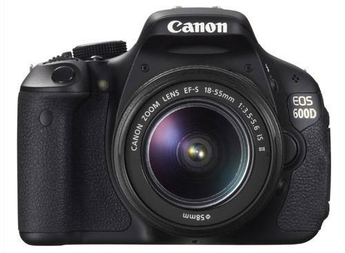 Canon EOS 600D + 18-55mm IS kit + 8GB SD + Bag + LCD protecto