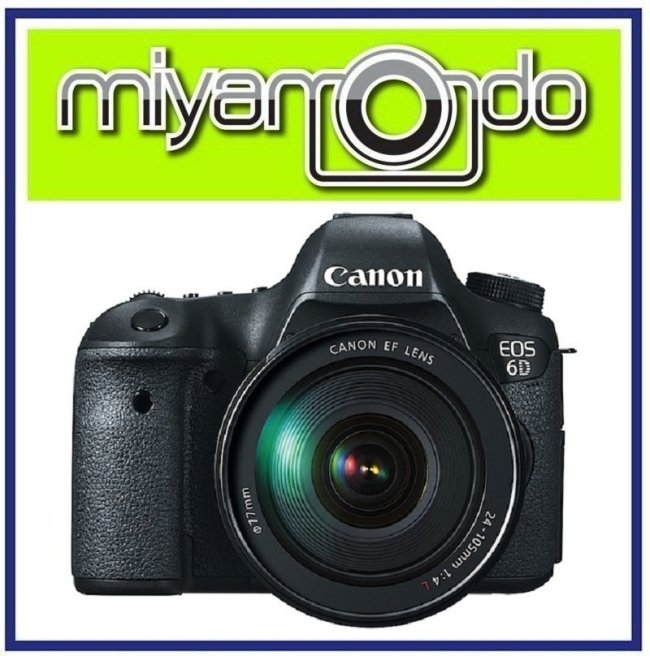 NEW Canon EOS 6D Body with 24-105mm F4L Lens