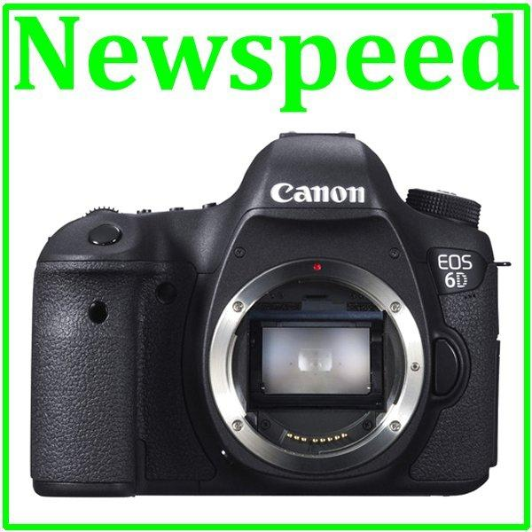 New Canon EOS 6D Body Digital DSLR Camera (Canon MSIA)