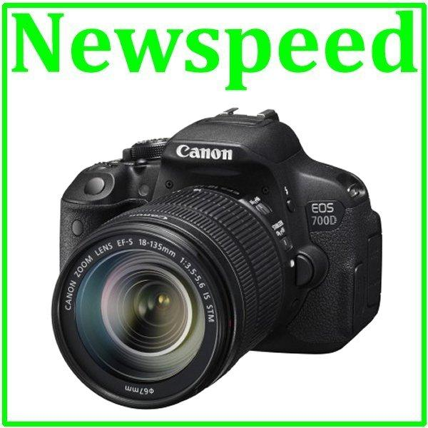 New Canon EOS 700D 18-135mm STM Lens Digital DSLR Camera +8GB+Bag