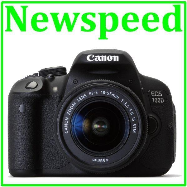 Canon EOS 700D 18-55mm STM Digital Camera +8GB+Bag (Canon MSIA)