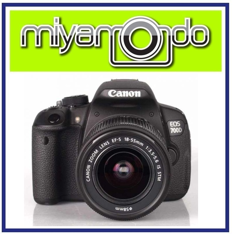 NEW Canon EOS 700D DSLR Camera + 18-55mm STM Lens (Malaysia)
