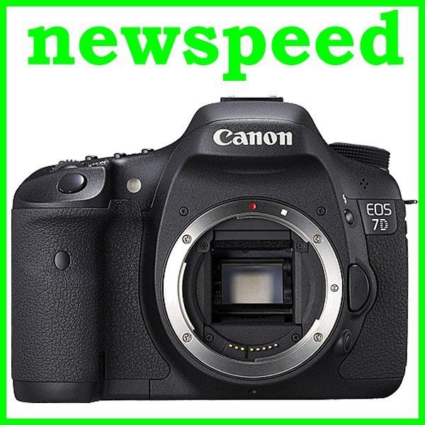 New Canon EOS 7D 18MP Digital SLR Camera Body