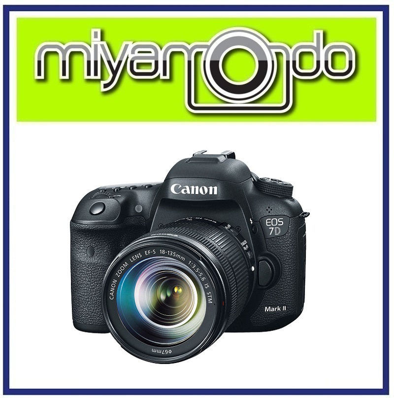 NEW Canon EOS 7D Mark II With 18-135mm DSLR MK II