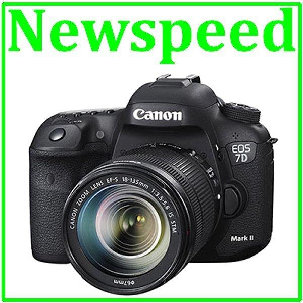 New Canon EOS 7D Mark II + 18-135mm STM Digital DSLR Camera