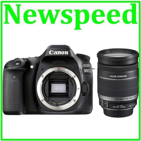 Canon EOS 80D 18-200mm IS Lens +8GB+Bag (Import)