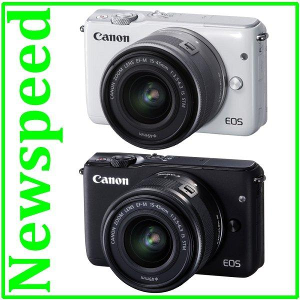 Canon EOS M10 15-45mm Lens +8GB+Bag (Canon MSIA) + Extra Battery