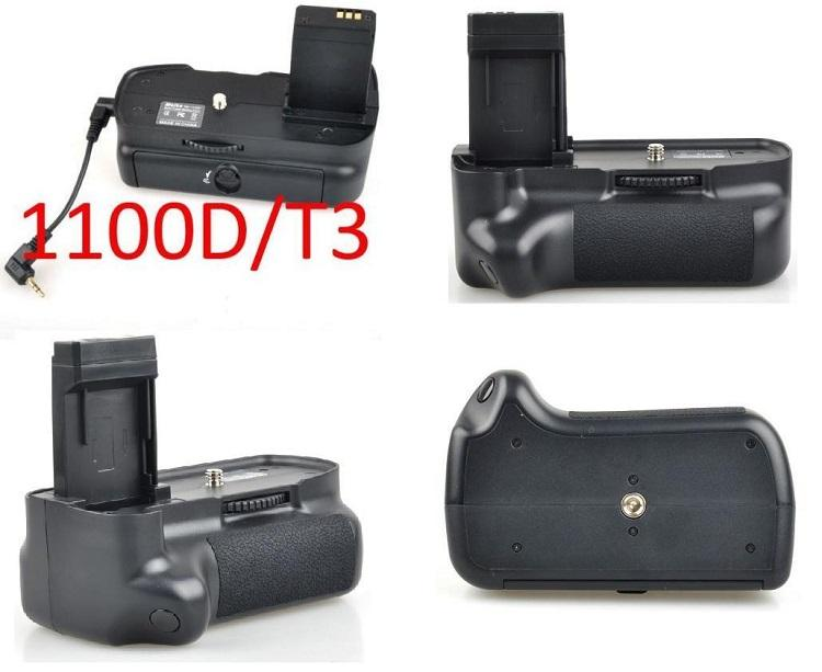 Canon EOS Rebel T3 / EOS 1100D LP-E10 Vertical Battery Grip