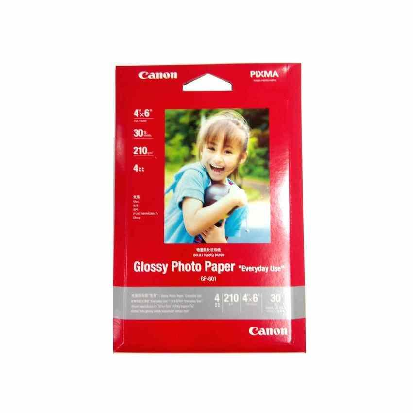 "Canon GP-601 Glossy Photo Paper 4"" x 6"" 30 pcs"