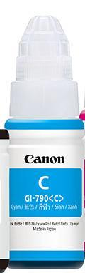 CANON INK BOTTLE GI-790 CYAN