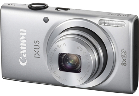 Canon IXUS 132 Digital Camera- Silver(free 8GB + Case)- Free Shipping!
