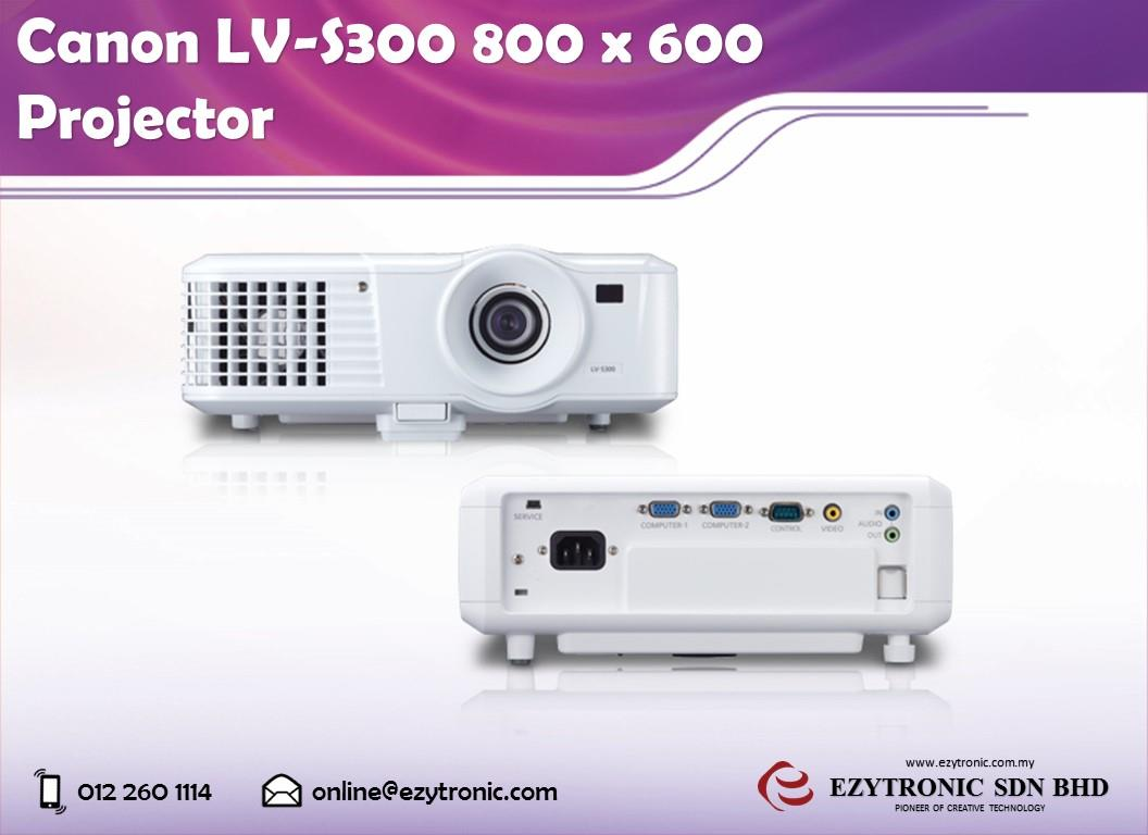 Canon LV-S300 800 x 600 Projector