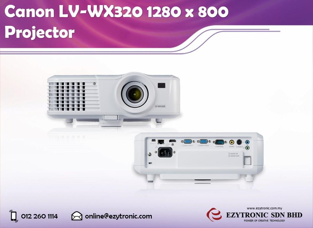 Canon LV-WX320 1280 x 800 Projector