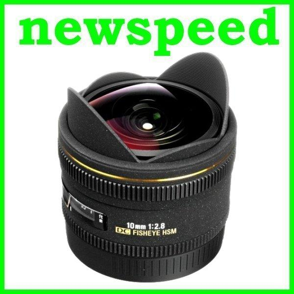 New Canon Mount Sigma 10mm F2.8 EX DC FISHEYE HSM Lens for Canon