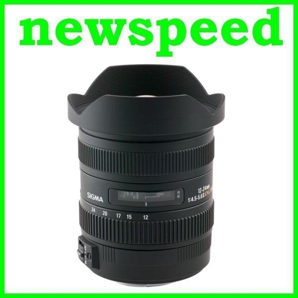 New Canon Mount Sigma 12-24mm F4.5-5.6 DG HSM II Lens