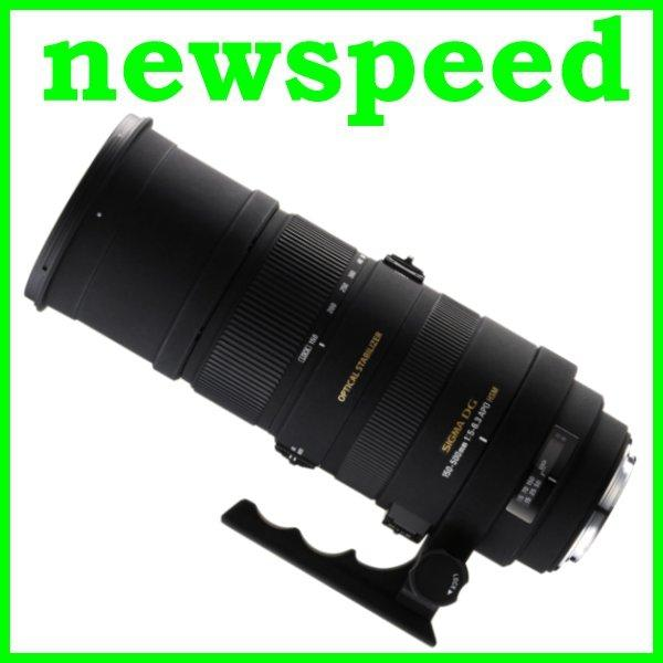 New Canon Mount Sigma 150-500mm F5-6.3 APO DG OS HSM Lens
