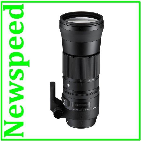 Canon Mount Sigma 150-600mm F5-6.3 DG OS HSM Contemporary Lens (Import