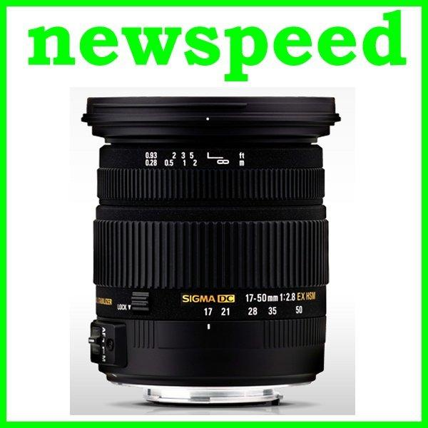New Canon Mount Sigma 17-50mm F2.8 EX DC OS HSM Lens