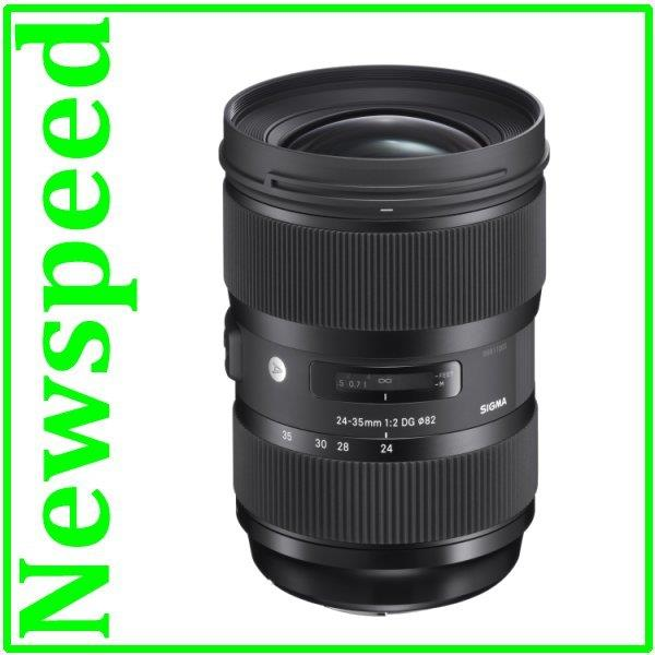 New Canon Mount Sigma 24-35mm F2 DG HSM ART Lens (Import)