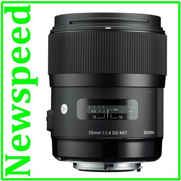 New Canon Mount Sigma 35mm F1.4 DG HSM ART Lens
