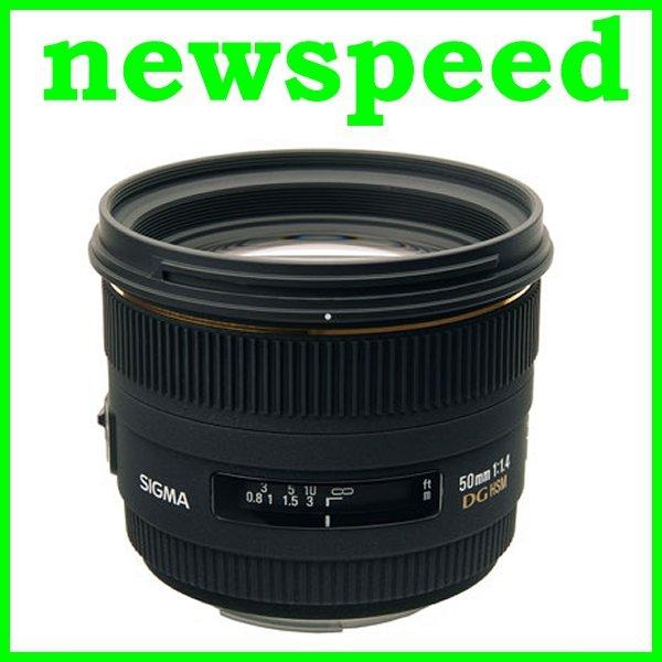 New Canon mount Sigma 50mm F1.4 EX DG HSM Lens for canon