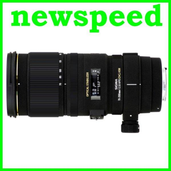 New Canon Mount Sigma APO 70-200mm F2.8 EX DG OS HSM Lens