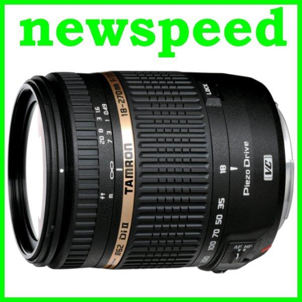 New Canon Mount Tamron 18-270mm F3.5-6.3 AF Di II VC PZD Lens