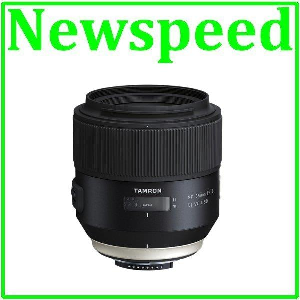New Canon Mount Tamron 85mm F/1.8 SP Di VC USD Lens (Import)
