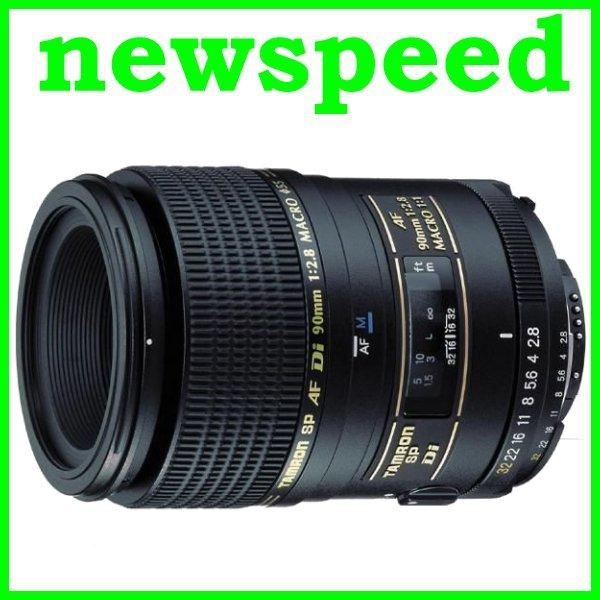 New Canon mount Tamron 90mm F2.8 SP AF Di Macro 1:1 Lens