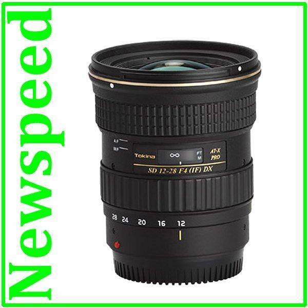 New Canon Mount Tokina 12-28mm f/4.0 AT-X Pro DX Lens
